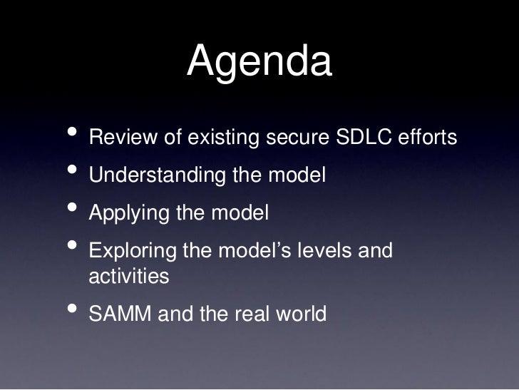 Owasp Software Assurance Maturity Model