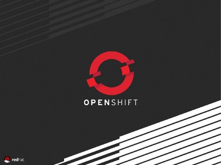 OpenShift : TaSafoConf 2012