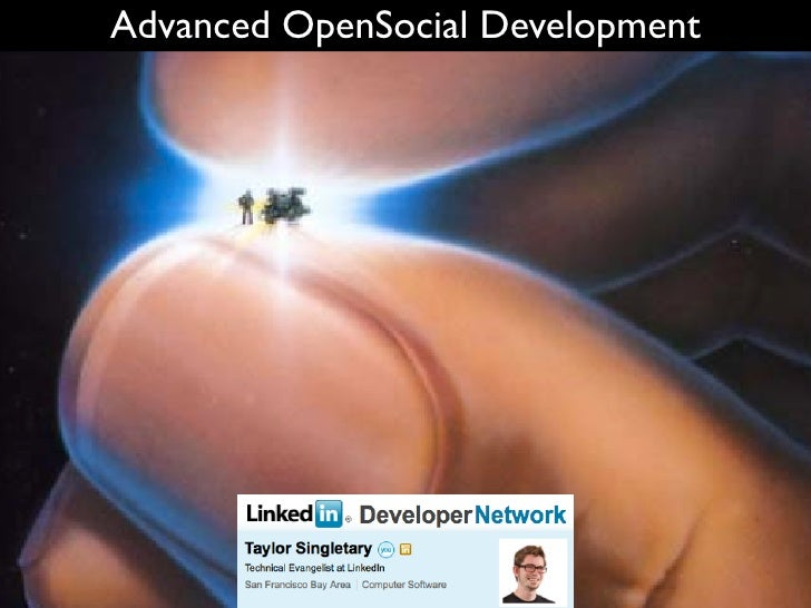 Advanced OpenSocial Development