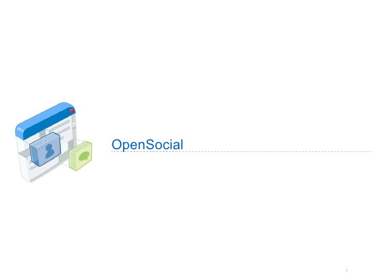 OpenSocial Intro