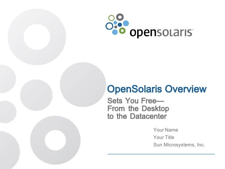 Open solaris customer presentation