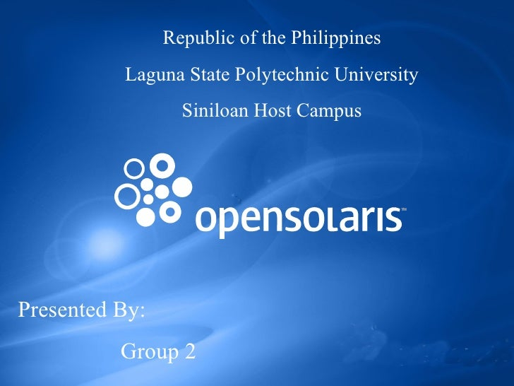 Republic of the Philippines Laguna State Polytechnic University Siniloan Host Campus Presented By: Group 2