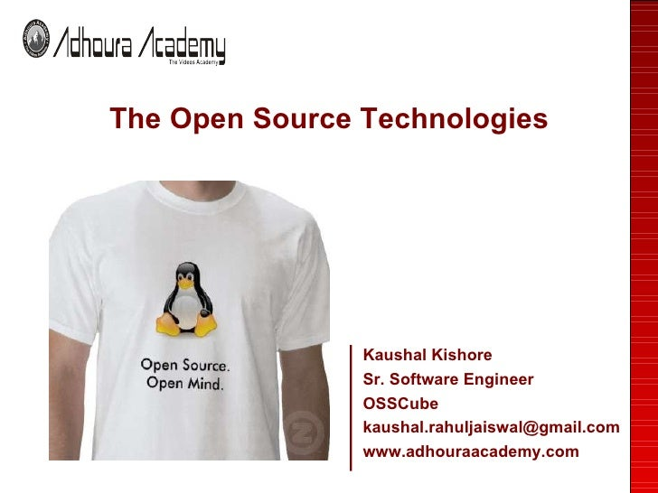 Open Source Presentation