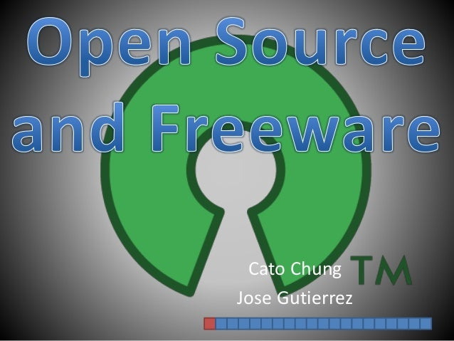 Open Source and Freeware