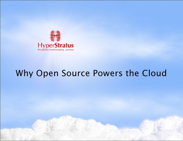 Open sourceclouds