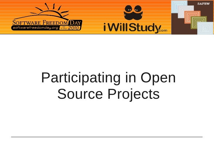 Participating in Open   Source Projects