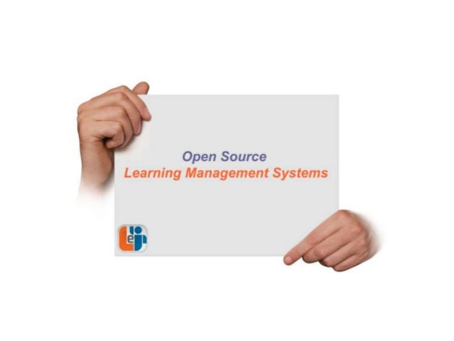 Open Source Learning Management Systems