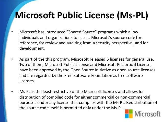 Open Source Licences