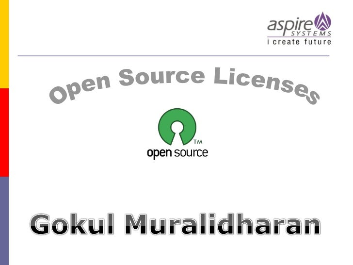 Open source licenses training