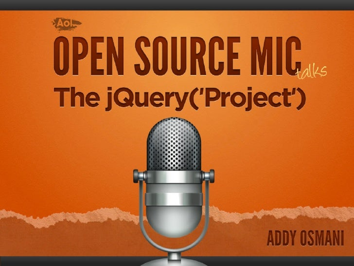 Open-source Mic Talks at AOL