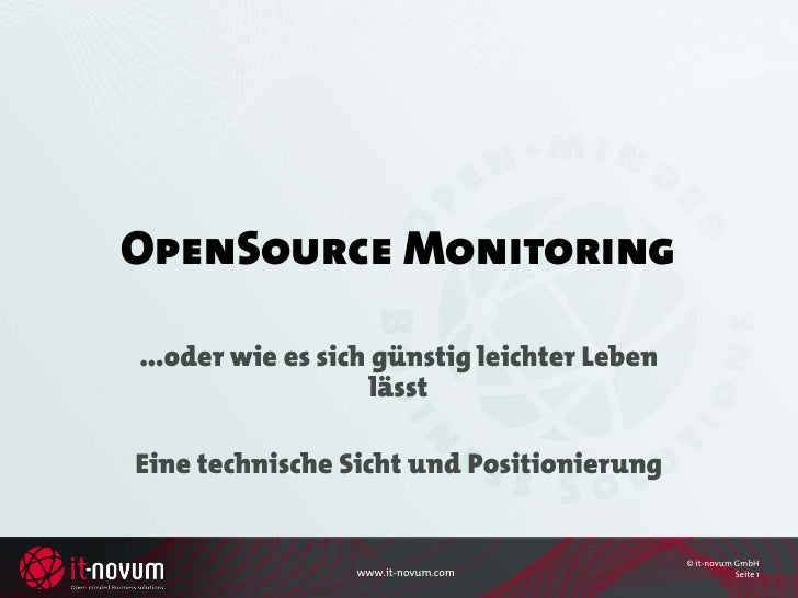 Open Source Monitoring