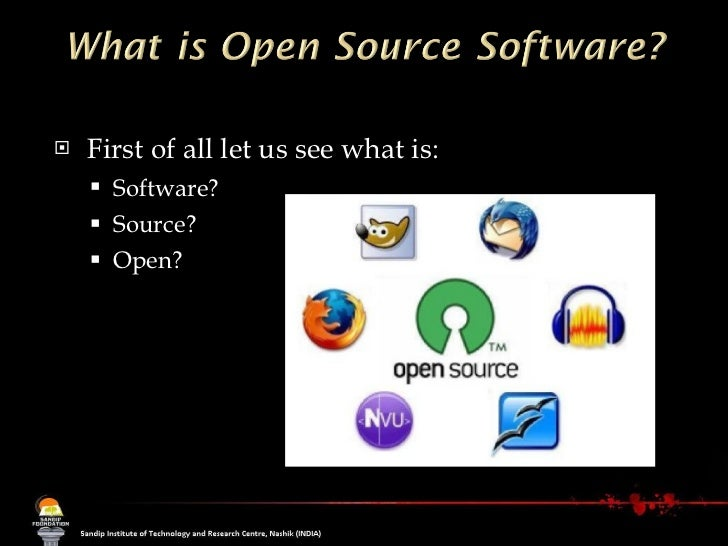 open and close source operating system For more information on how free and open source software can benefit education and learning is a computer operating system, like microsoft windows or apple mac os.