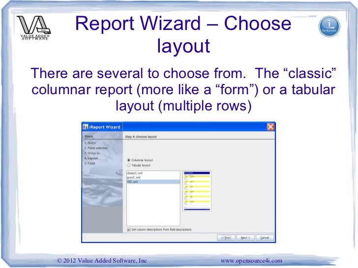 report writing tool