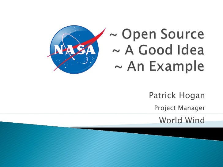 2011 NASA Open Source Summit - Patrick Hogan