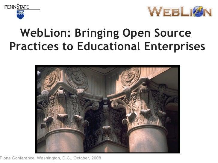 Opensourceweblion