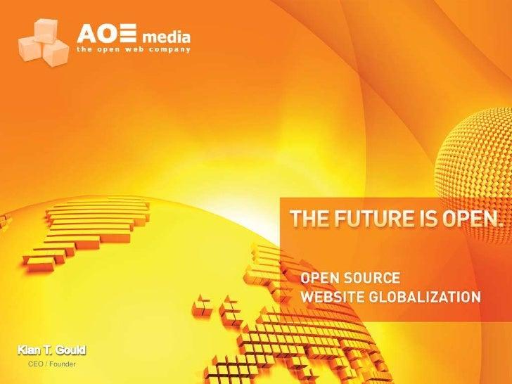 Open Source website globalization