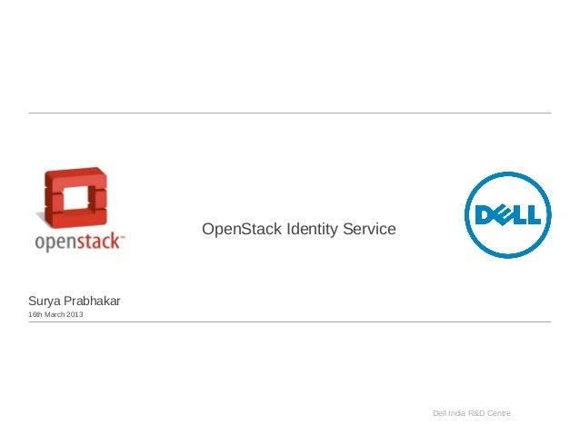 OpenStack keystone identity service