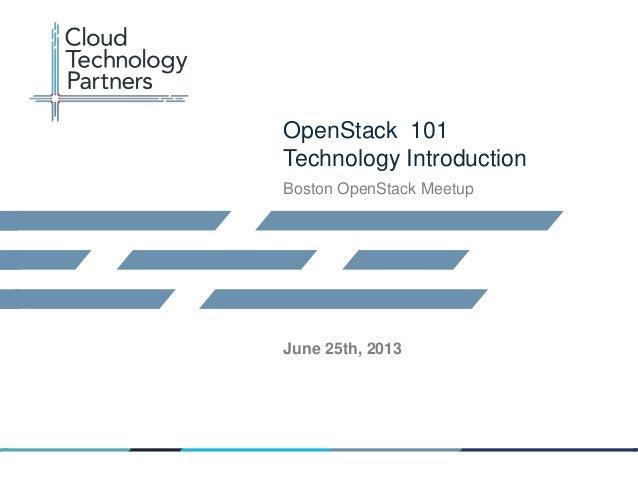 Openstack 101