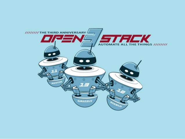 OpenStack 3rd Birthday