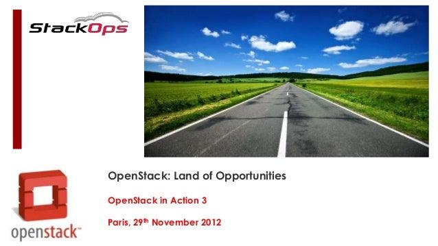 OpenStack: Opportunities in Europe