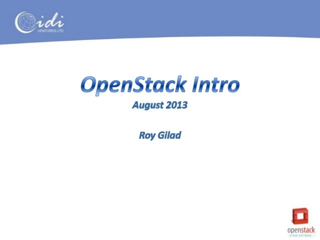 OpenStack Introduction