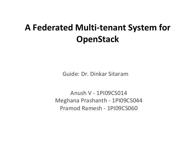 Openstack Pramod