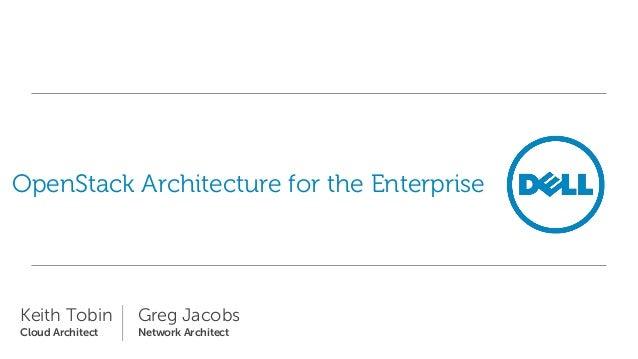 Architecture Openstack for the Enterprise