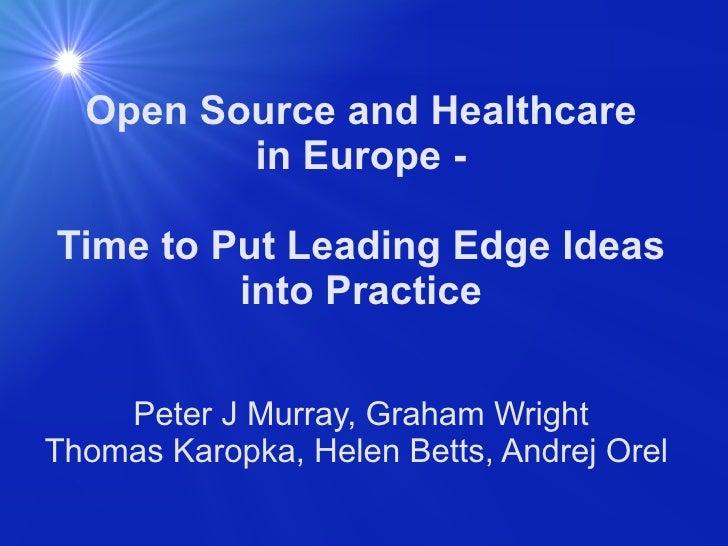 Open source workshop, MIE2009