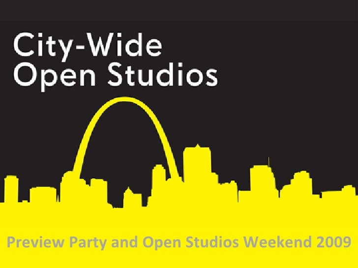 Preview Party and Open Studios Weekend 2009