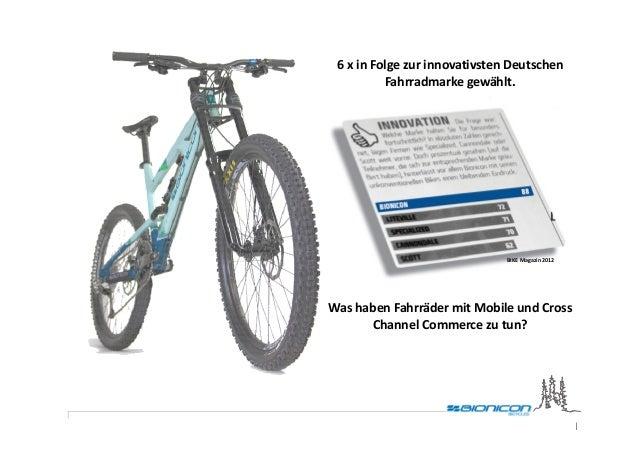 6 x in Folge zur innovativsten Deutschen          Fahrradmarke gewählt.                               BIKE Magazin 2012Was...