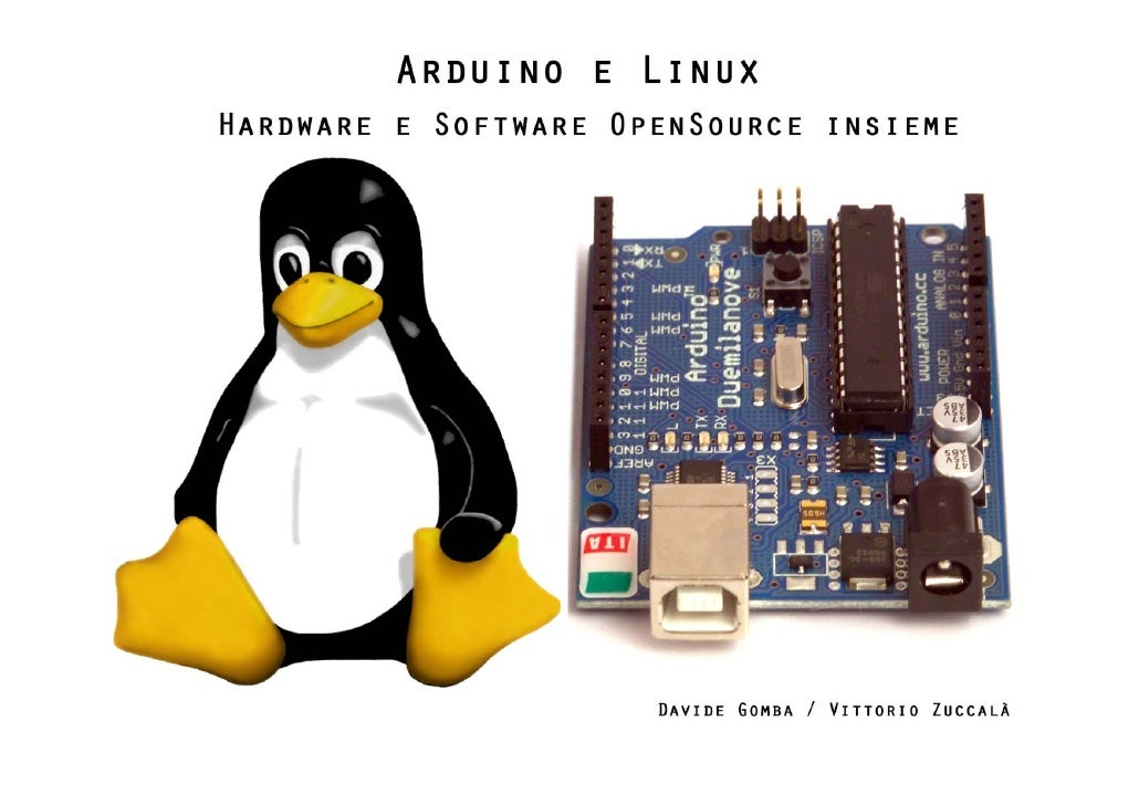 Arduino and Linux / hardware & software openSource together