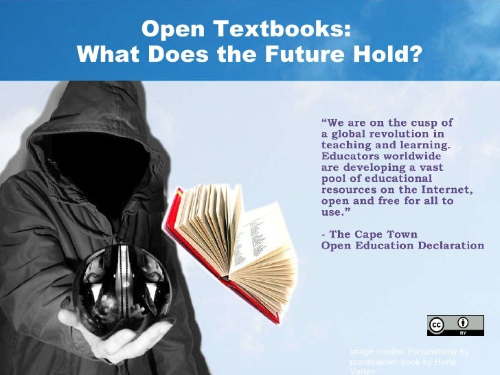 Open Textbooks: What Does the Future Hold?