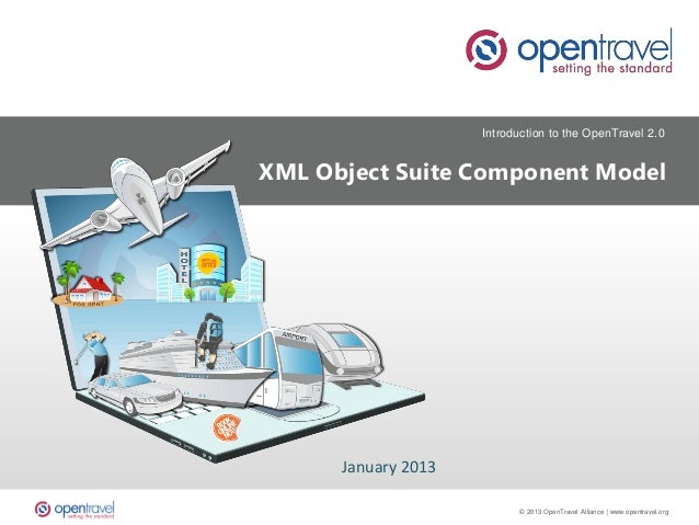 OpenTravel XML Object Suite - Component Model