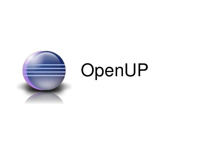 OpenUp presentation