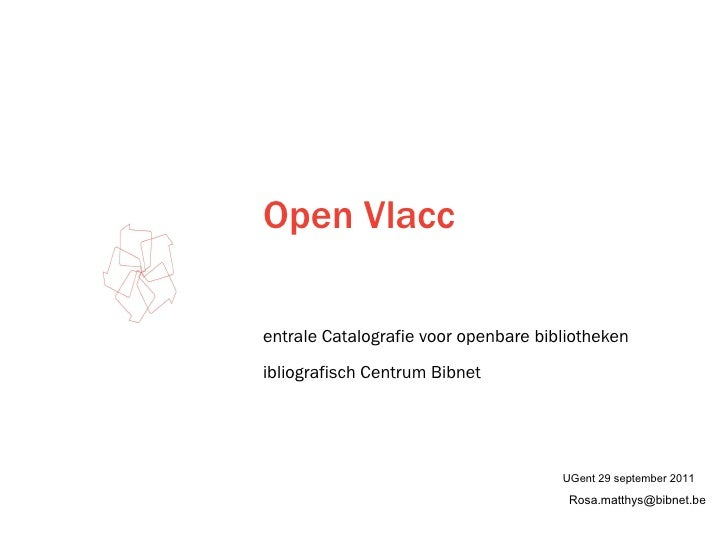 Open vlacc UGent20110929