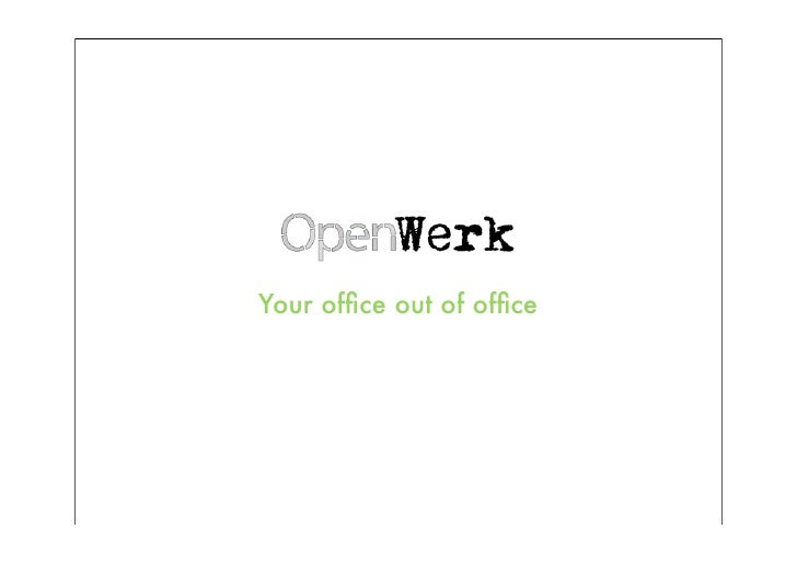 Your office out of office
