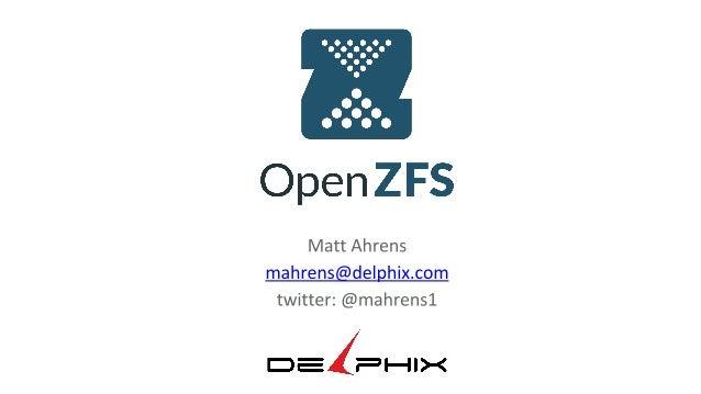 OpenZFS dotScale