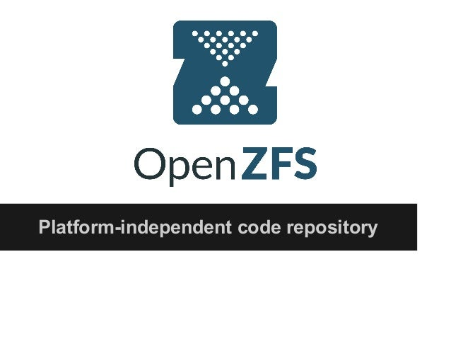 Platform-independent code repository