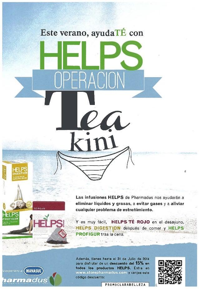Operación teakini helps en clara belleza