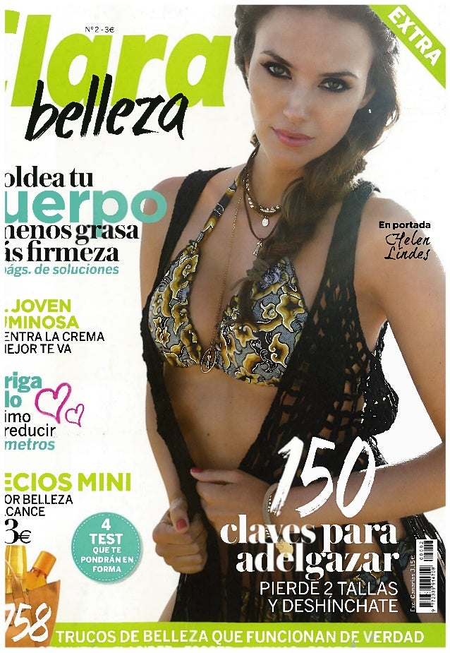 Operación TEAkini HELPS en revista Clara Belleza