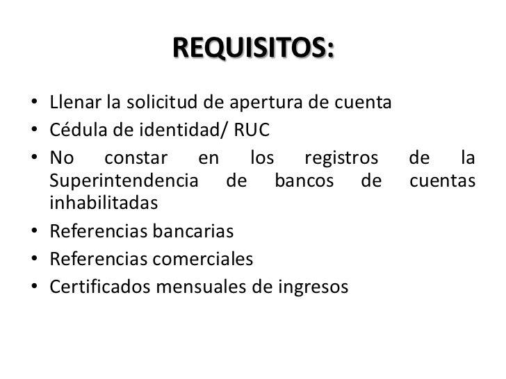 Operaciones bancarias 02 for Solicitud de chequera