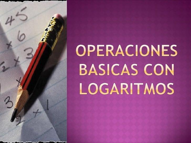 Operaciones Basicas 1