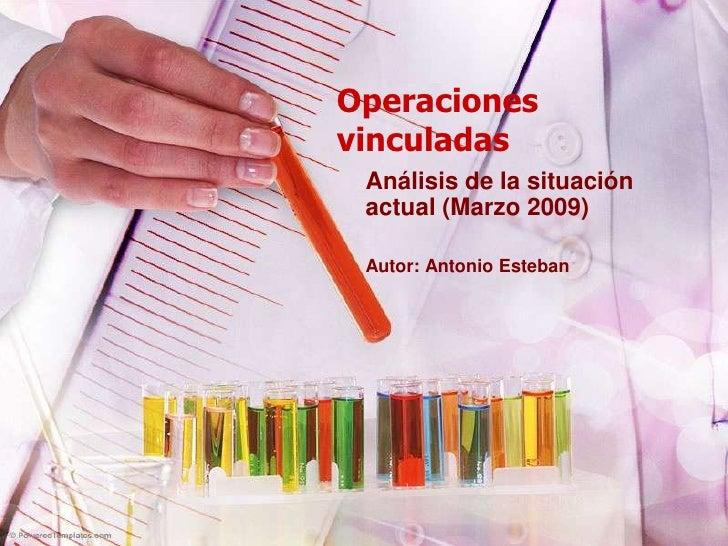 Operaciones Vinculadas
