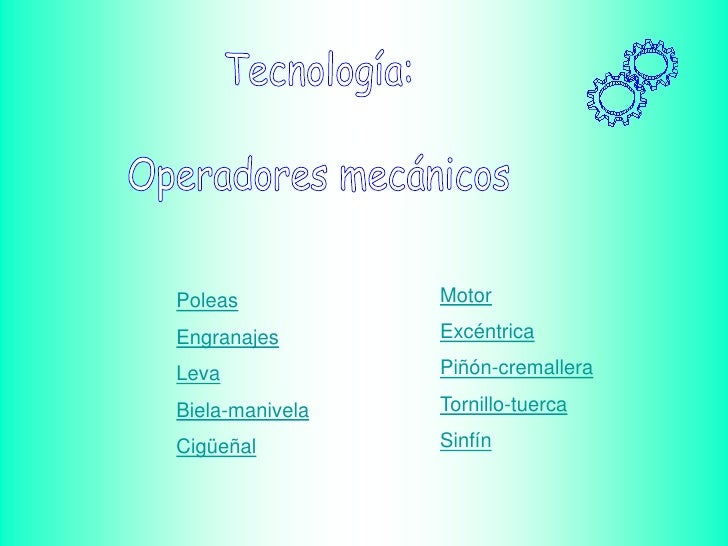 Operad. mecánicos .ppsx con http://www.slideshare.net
