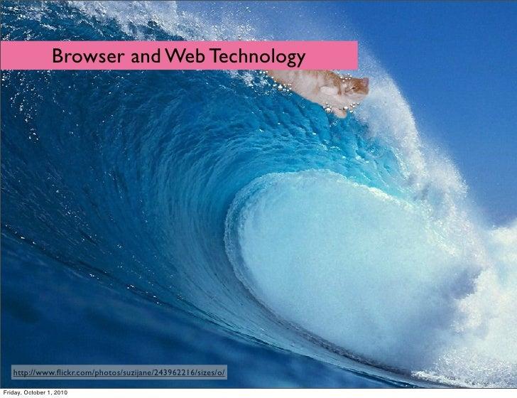 Browsers & Web Technology - an Opera talk