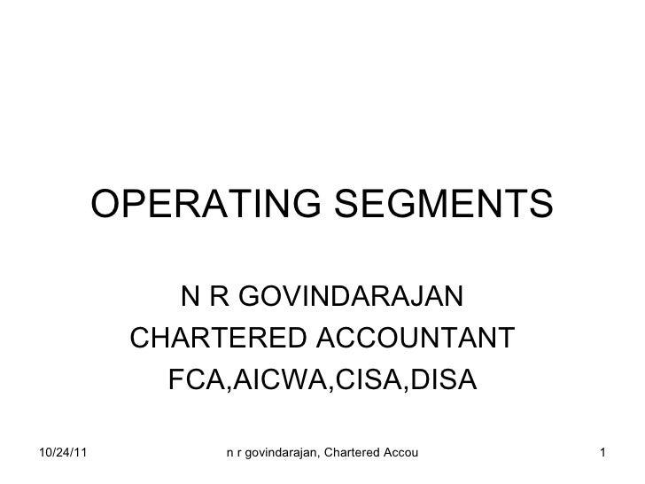 Operating segments final
