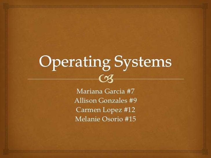 Mariana Garcia #7Allison Gonzales #9Carmen Lopez #12Melanie Osorio #15