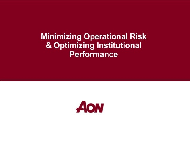 Operational risk management (2)
