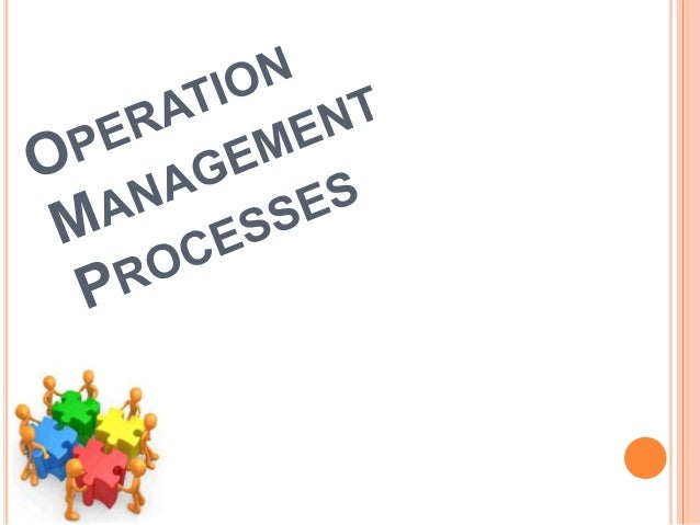 operation management process design essays