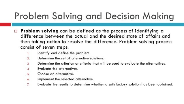 problem analysis and decision making technique 2007-6-8  lesson:-26 group decision-making  are recorded for later discussion and analysis  approach to group decision making blends the nominal group technique.
